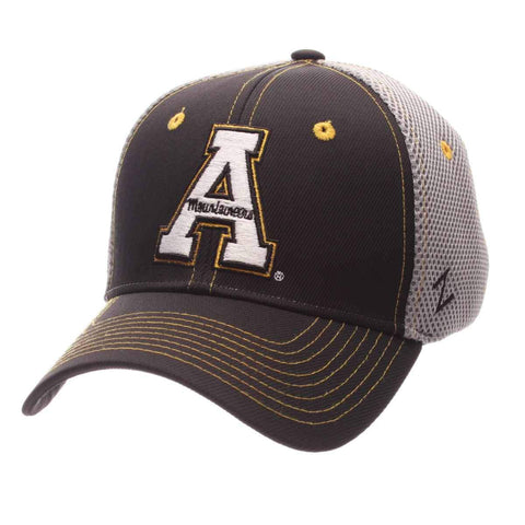Shop Appalachian State Mountaineers Zephyr Pregame Stretch Fit Structured Hat Cap