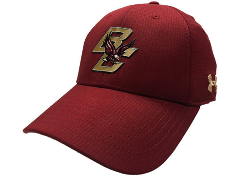 Boston College Eagles Under Armour Mens Sideline AirVent Stretch Fit Hat Cap