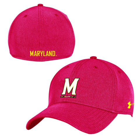Maryland Terrapins Under Armour Mens Sideline AirVent Stretch Fit Hat Cap