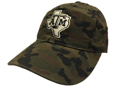 Shop Texas A&M Aggies Adidas Tonal Logo Slouch Green Camo Flexfit  Hat Cap
