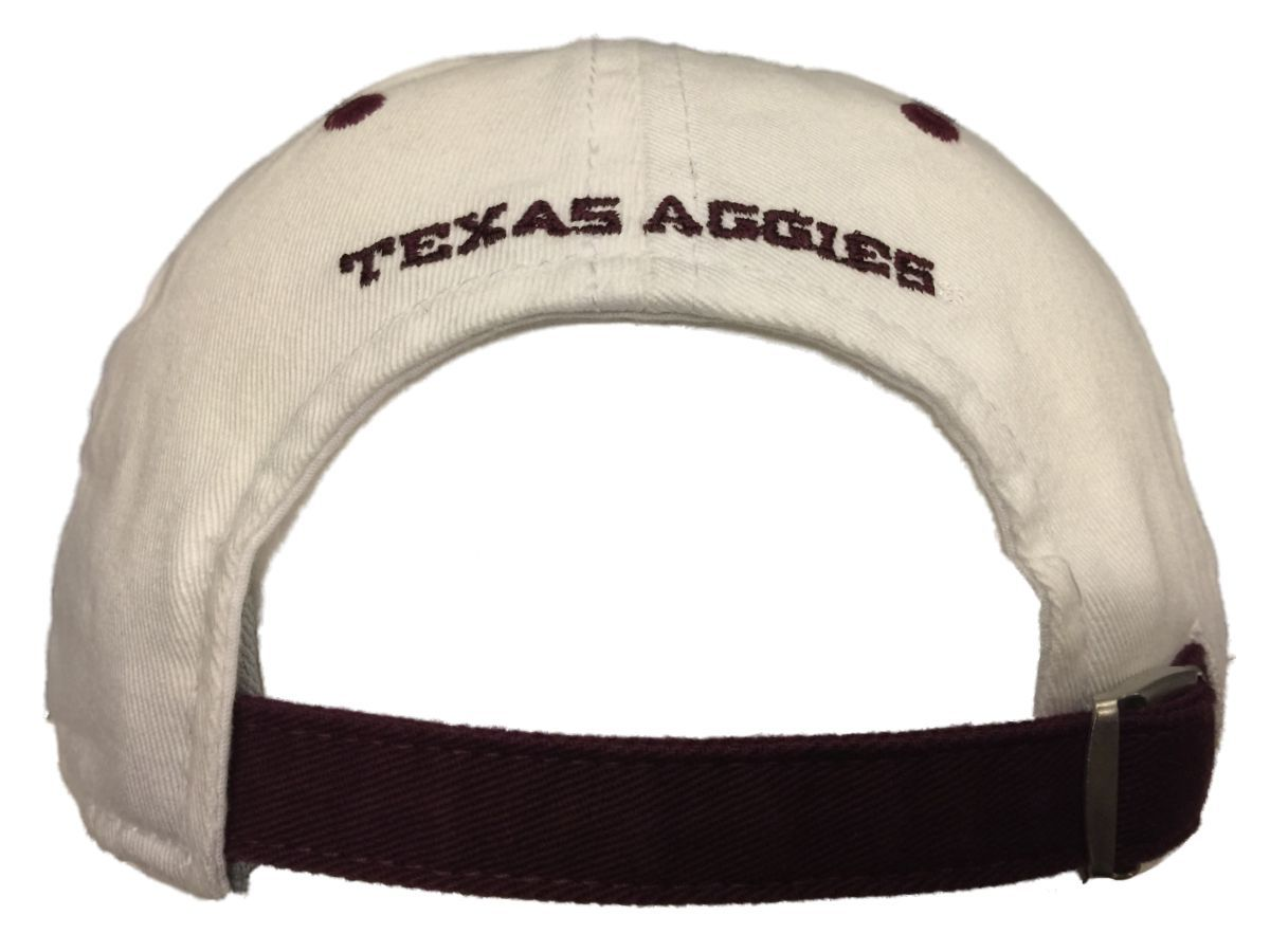various colors e0730 371b0 Texas A M Aggies Adidas Maroon White Climalite Adjustable Strap Clasp Hat  Cap