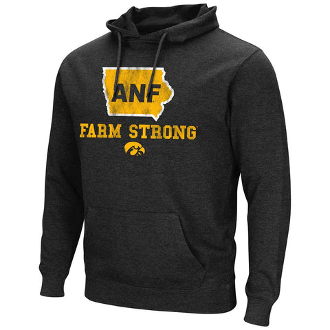 Iowa Hawkeyes Colosseum America Needs Farmers ANF Farm Strong Hoodie Sweatshirt