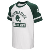 Michigan State Spartans Colosseum Youth Raglan All Pro Short Sleeve T-Shirt