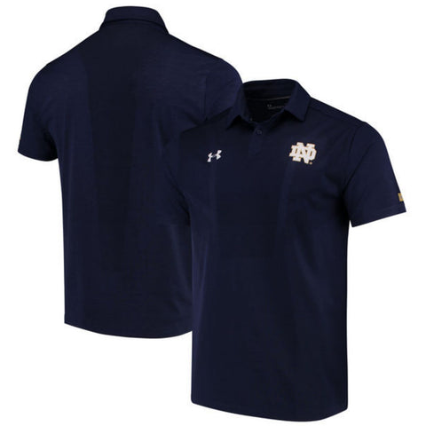 Shop Notre Dame Fighting Irish Under Armour Coaches Sideline Polo Shirt