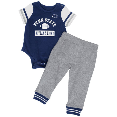 Shop Penn State Nittany Lions Colosseum Infant Boys MVP One Piece Outfit Pants Set
