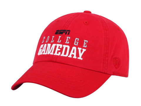 Ohio State Buckeyes TOW ESPN College Game Day Red Slouch Adj Hat Cap