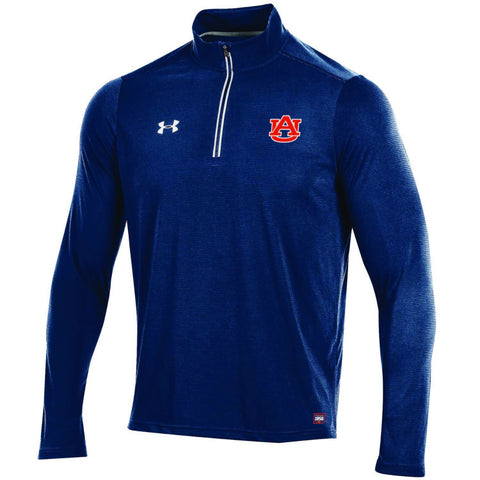 Auburn Tigers Under Armour Sideline On Field Microthread Light Pullover Jacket