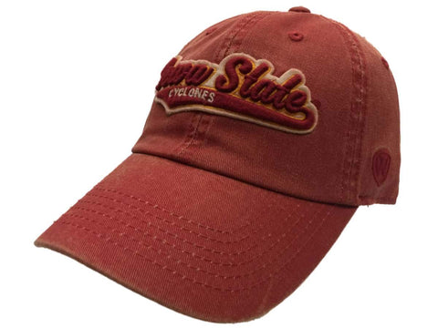Shop Iowa State Cyclones TOW Vintage Faded Red Cotton Adustable Strap Clasp Hat Cap