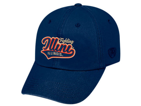 Shop Illinois Fighting Illini TOW Vintage Navy Park Style Adj. Slouch Relax Hat Cap - Sporting Up