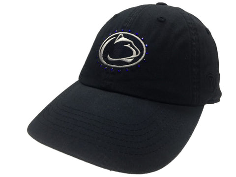 Shop Penn State Nittany Lions TOW Women's Navy Radiant Jewel Logo Adj. Slouch Hat Cap