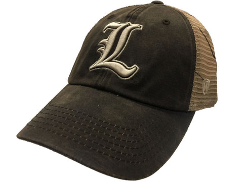 Shop Louisville Cardinals TOW Brown Realtree Camo Mesh Liberty Adj. Slouch Hat Cap