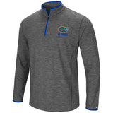 Florida Gators Colosseum Gray Diemert 1/4 Zip LS Pullover Windshirt