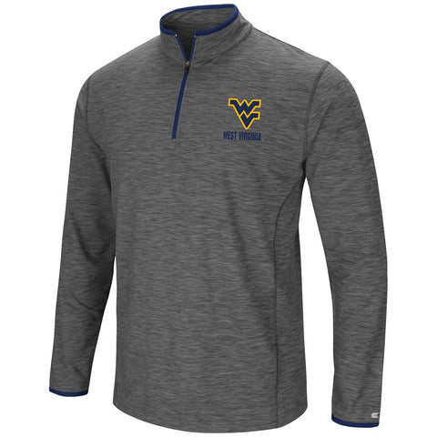 Shop West Virginia Mountaineers Colosseum Gray Diemert 1/4 Zip LS Windshirt