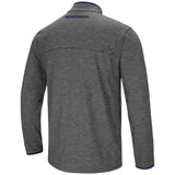 West Virginia Mountaineers Colosseum Gray Diemert 1/4 Zip LS Windshirt