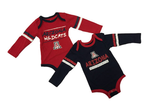 Arizona Wildcats Colosseum INFANT Boy's LS One Piece Outfit 2 Pack