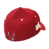 "Boston College Eagles Zephyr Cardinal Red ""Rambler"" Stretch Fit Hat Cap (M/L)"