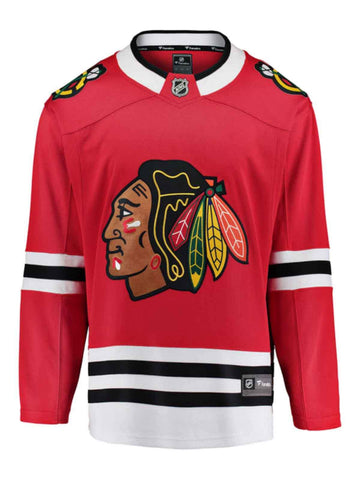 Shop Chicago Blackhawks Fanatics Red Breakaway NHL Hockey Home Jersey