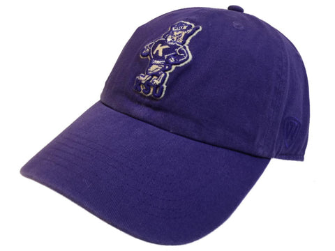 Kansas State Wildcats TOW Purple Vintage Crew Adj. Strapback Slouch Hat Cap - Sporting Up