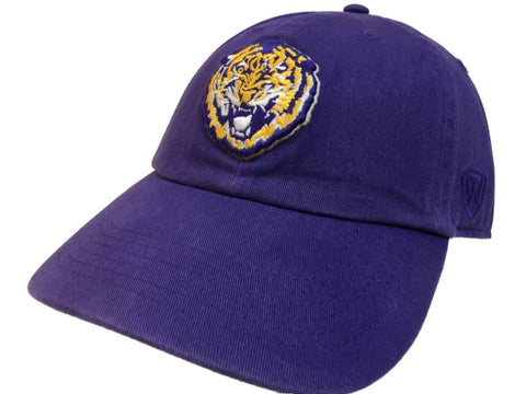 Shop LSU Tigers TOW Purple Vintage Crew Adjustable Strapback Slouch Hat Cap