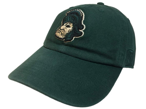 Michigan State Spartans TOW Green Vintage Crew Adj. Strapback Slouch Hat Cap - Sporting Up