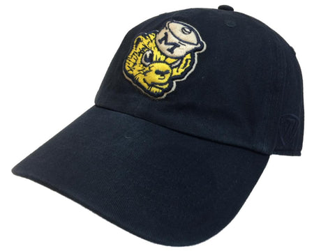 Shop Michigan Wolverines TOW Navy Vintage Crew Adjustable Strapback Slouch Hat Cap