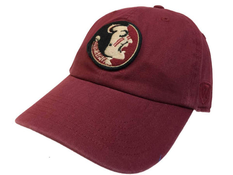 Florida State Seminoles TOW Garnet Vintage Crew Adj. Strapback Slouch Hat Cap - Sporting Up