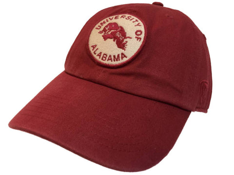 Shop Alabama Crimson Tide TOW Dark Red Vintage Crew Adj. Strapback Slouch Hat Cap