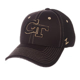 "Georgia Tech Yellow Jackets Zephyr ""Undertaker"" Mesh Stretch Fit Hat Cap (M/L)"