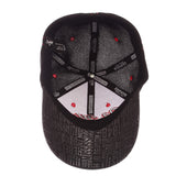 "Ole Miss Rebels Zephyr Black ""Undertaker"" Mesh Stretch Fit Hat Cap (M/L)"
