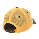 "Missouri Tigers Zephyr ""Freeway"" Black w/ Yellow Mesh Adj. Slouch Hat Cap"