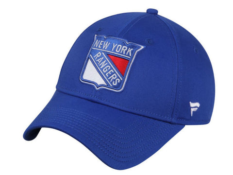 New York Rangers Fanatics Royal Blue Retro Adj. Strapback Slouch Relax Hat Cap