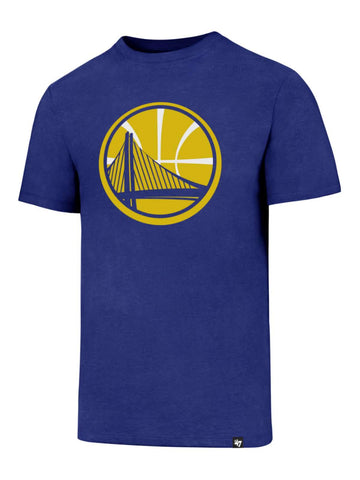 "Shop Golden State Warriors 47 Brand Blue ""Club Tee"" Short Sleeve Crew T-Shirt"