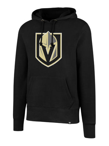 "Shop Vegas Golden Knights 47 Brand Black ""Headline"" Pullover Hoodie Sweatshirt"