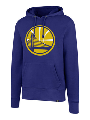 "Shop Golden State Warriors 47 Brand Blue ""Headline"" Pullover Hoodie Sweatshirt"