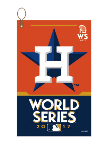 Shop Houston Astros 2017 World Series WinCraft Tailgate Golf Sports Towel