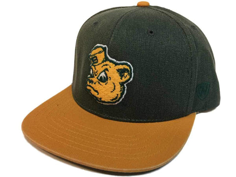 "Baylor Bears TOW Two-Tone ""Saga"" Vintage Collection Snapback Flat Bill Hat Cap"