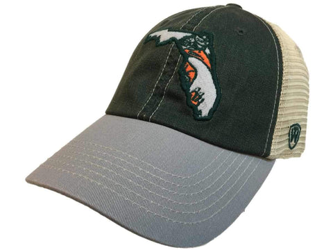 Miami Hurricanes TOW United Mesh Vintage Logo Adj Snapback Relax Fit Hat Cap