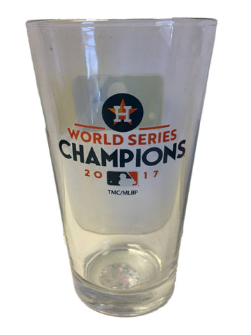 Houston Astros 2017 World Series Champions Memory Company Pint Glass (17oz)