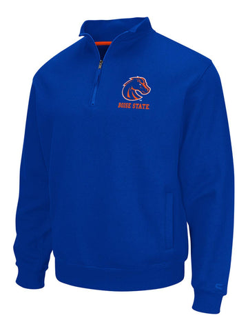 Boise State Broncos Colosseum Zone 1/4 Zip Long Sleeve Fleece Pullover