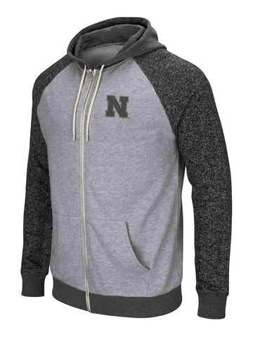 Nebraska Cornhuskers Colosseum Two-Tone Regulation Full Zip Hoodie Jacket