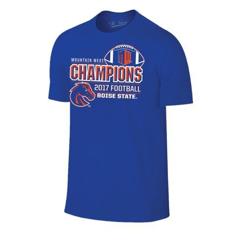 Boise State Broncos 2017 Mountain West Champions Locker Room T-Shirt