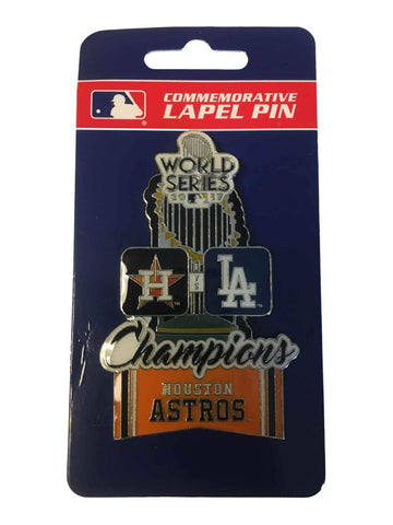 Houston Astros 2017 World Series Champions PSG Large Dueling Teams Lapel Pin