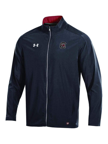 South Carolina Gamecocks Under Armour On-Field Stealth Charger Warm Up Jacket