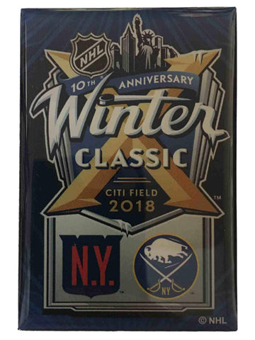New York Rangers Buffalo Sabres 2018 Winter Classic 10th Anniversary Magnet