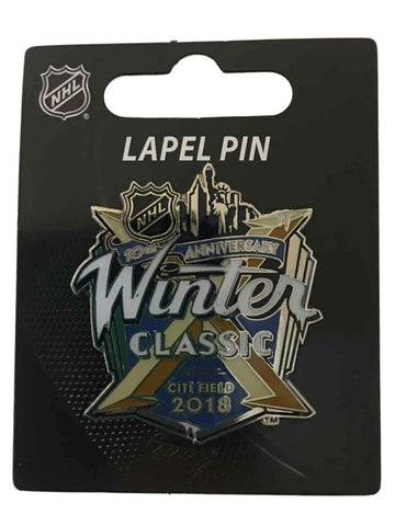New York Rangers Buffalo Sabres 2018 Winter Classic 10th Anniversary Lapel Pin