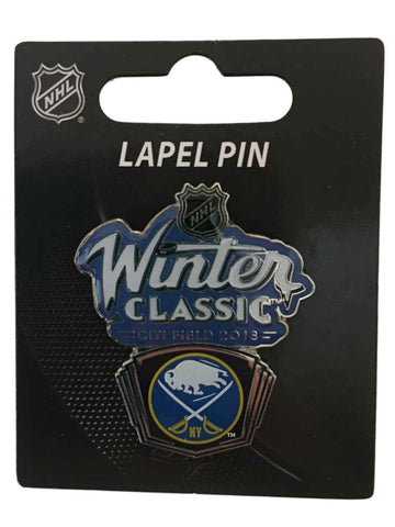 Buffalo Sabres 2018 NHL Winter Classic 10th Anniversary Citi Field Lapel Pin