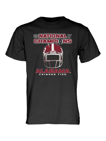Alabama Crimson Tide 2017-2018 College Football National Champions Black T-Shirt