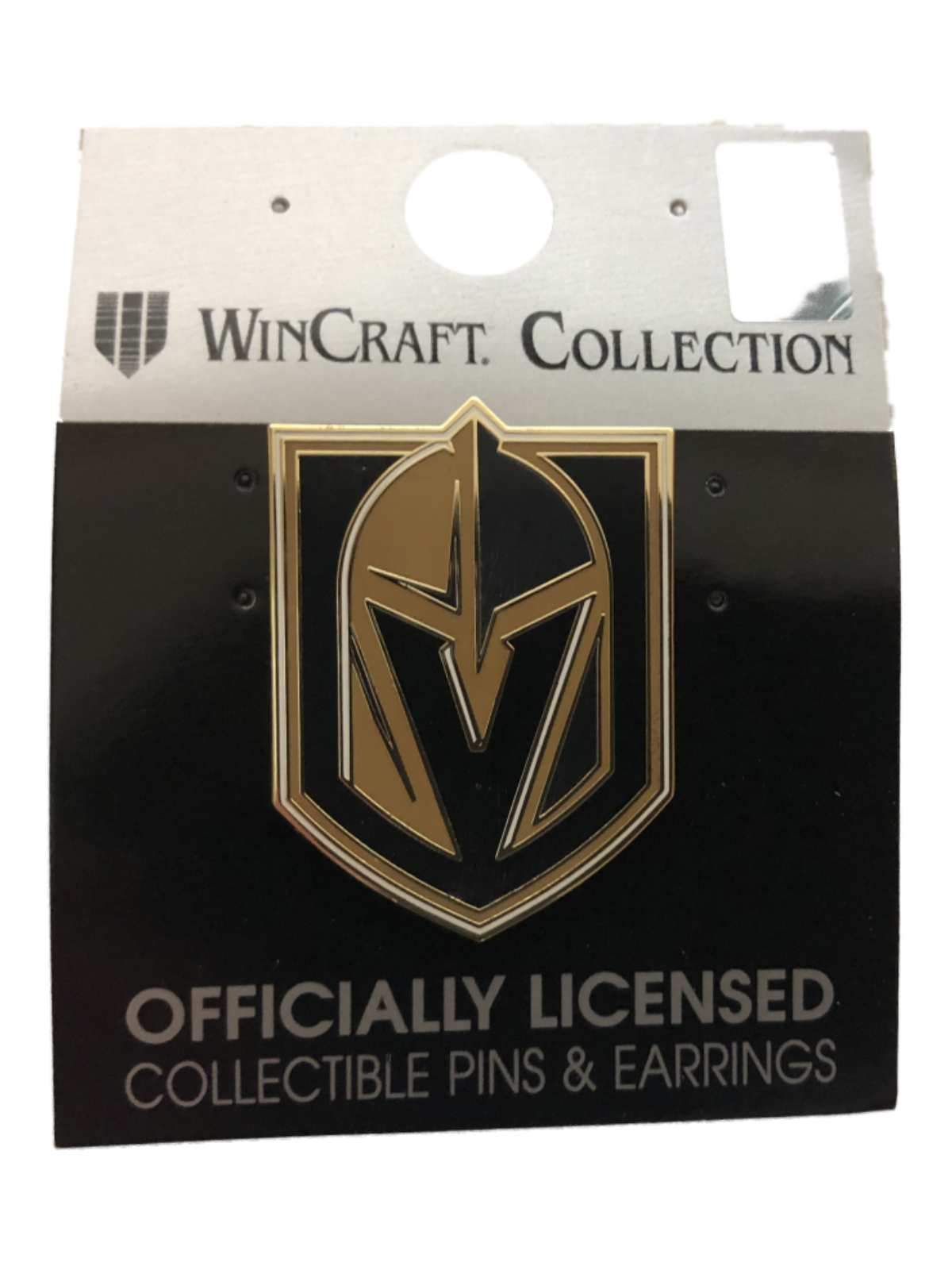 6c18fcffae4 Las Vegas Golden Knights WinCraft Black Steel Gray & Gold Metal Lapel Pin