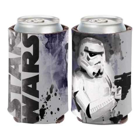 Storm Trooper STAR WARS WinCraft Gray & Black Neoprene Can Cooler (12oz)