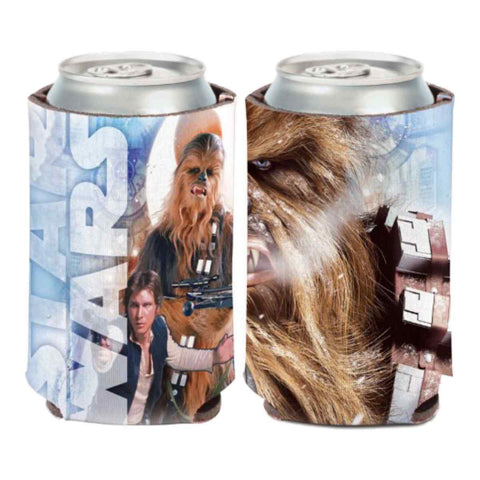 "Chewbacca ""Chewy"" & Han Solo STAR WARS WinCraft Neoprene Can Cooler (12oz)"